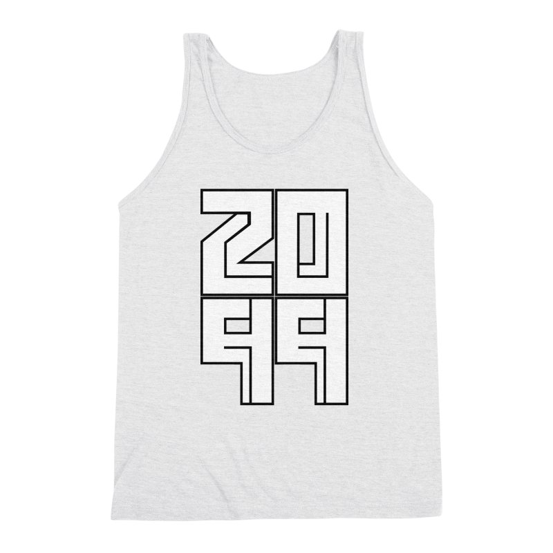 2099 KRUH Men's Triblend Tank by DEADBEAT HERO Artist Shop