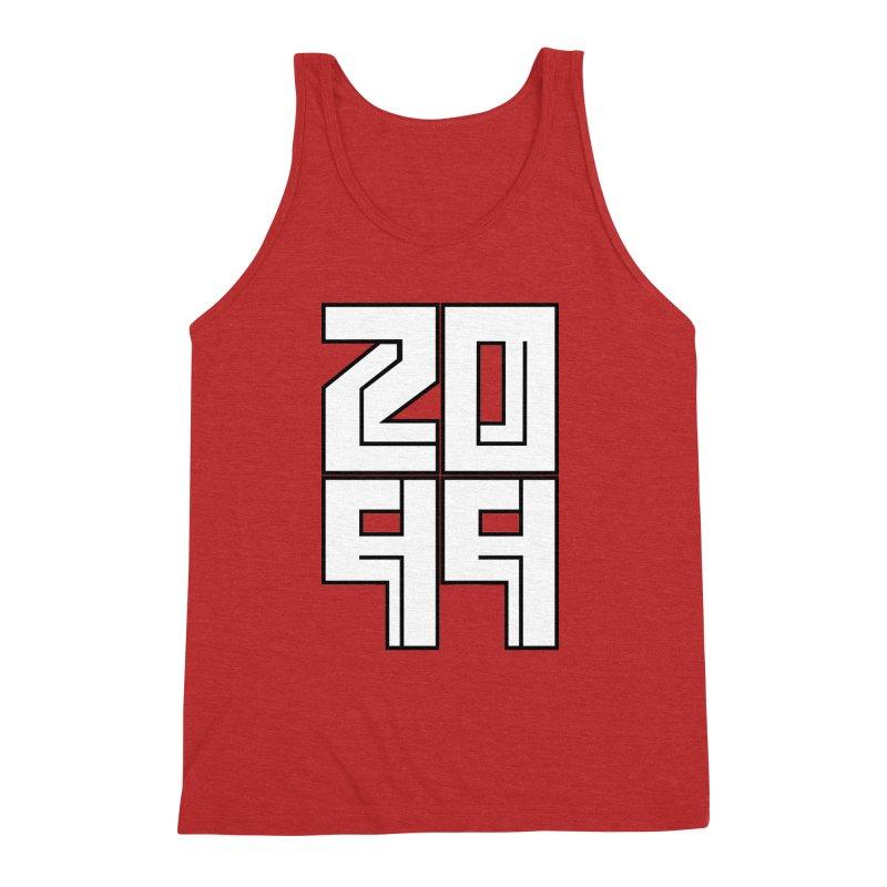 2099 KRUH Men's Triblend Tank by DEADBEAT HERO Artist Shop