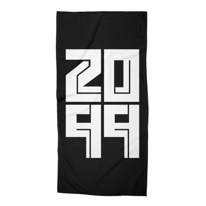 2099 KRUH Accessories Beach Towel by DEADBEAT HERO Artist Shop
