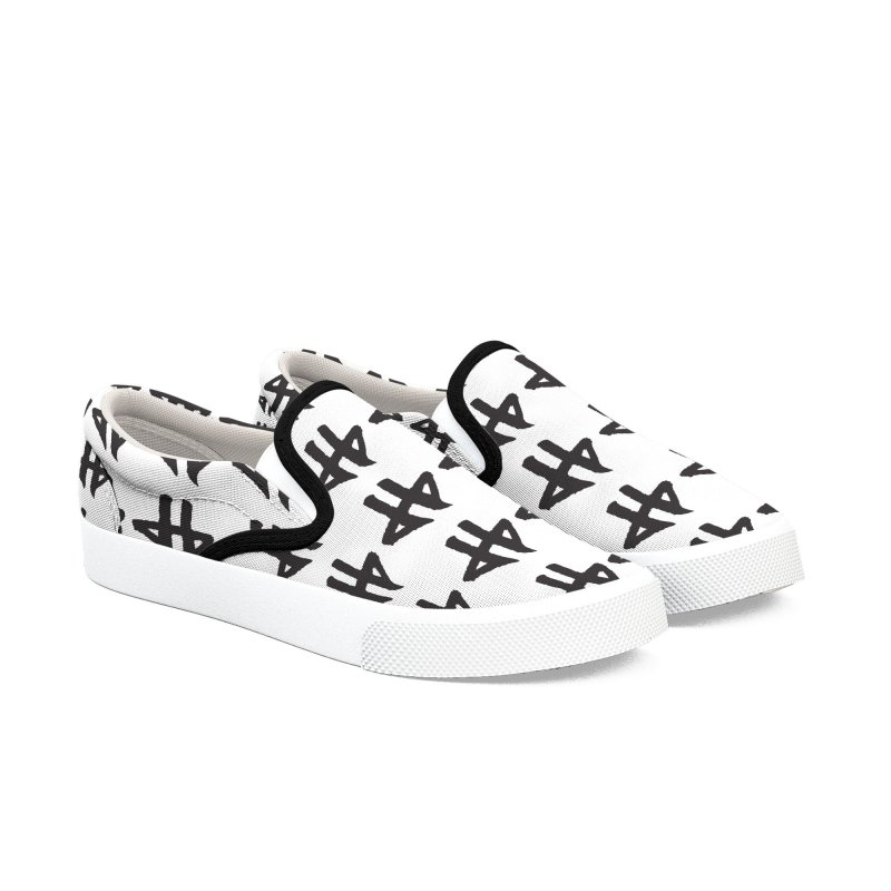 DeadBeat Hero Logo Women's Slip-On Shoes by DEADBEAT HERO Artist Shop