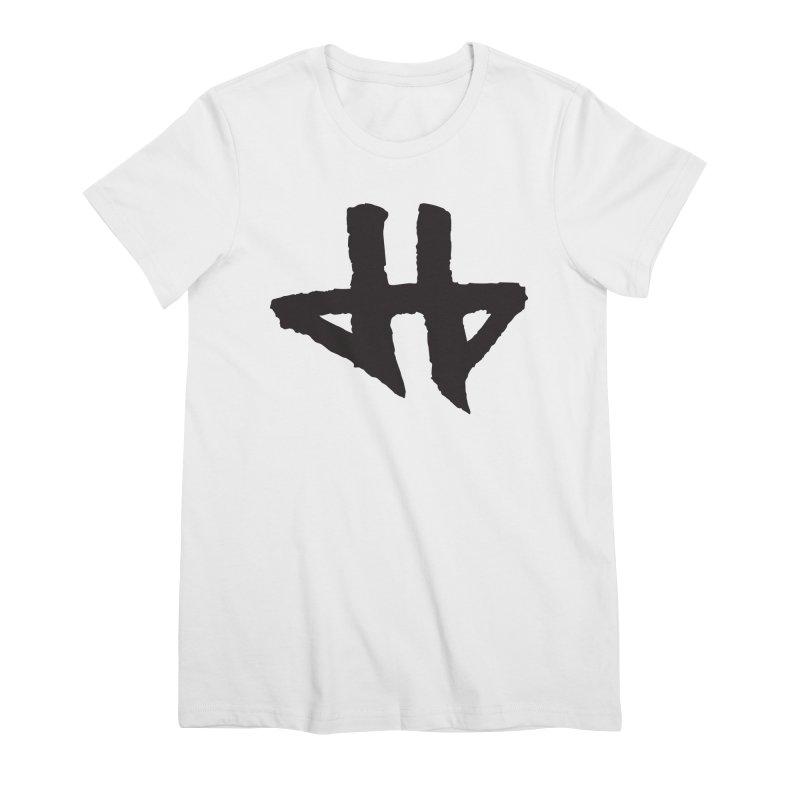DeadBeat Hero Logo Women's Premium T-Shirt by DEADBEAT HERO Artist Shop