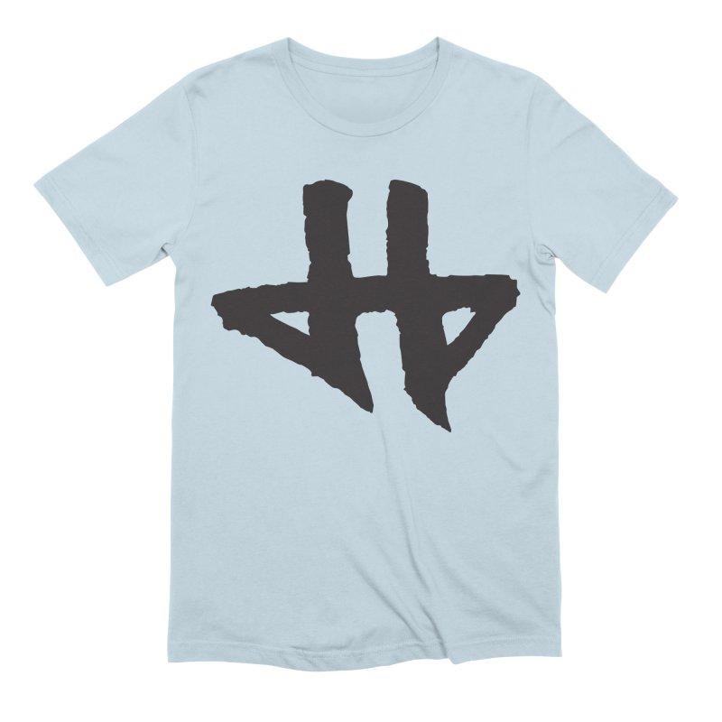 DeadBeat Hero Logo Men's Extra Soft T-Shirt by DEADBEAT HERO Artist Shop