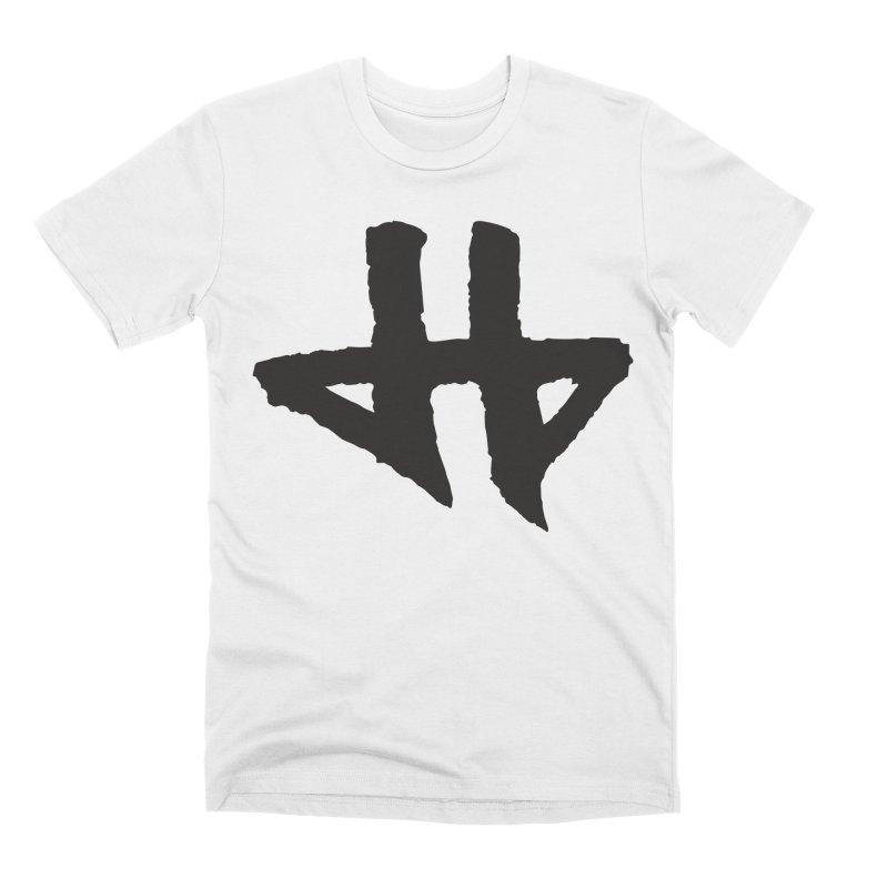 DeadBeat Hero Logo Men's Premium T-Shirt by DEADBEAT HERO Artist Shop