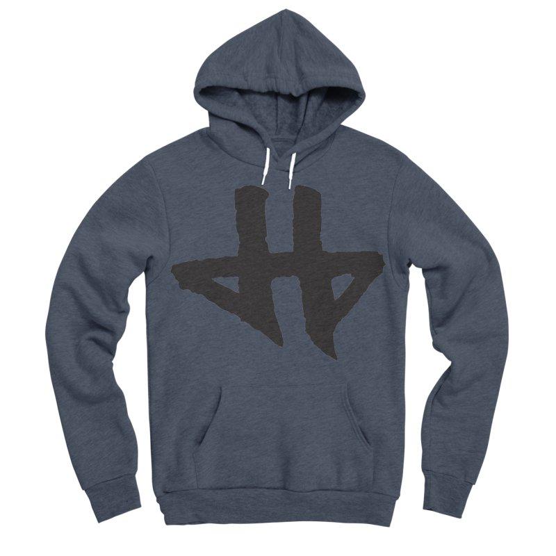 DeadBeat Hero Logo Men's Sponge Fleece Pullover Hoody by DEADBEAT HERO Artist Shop