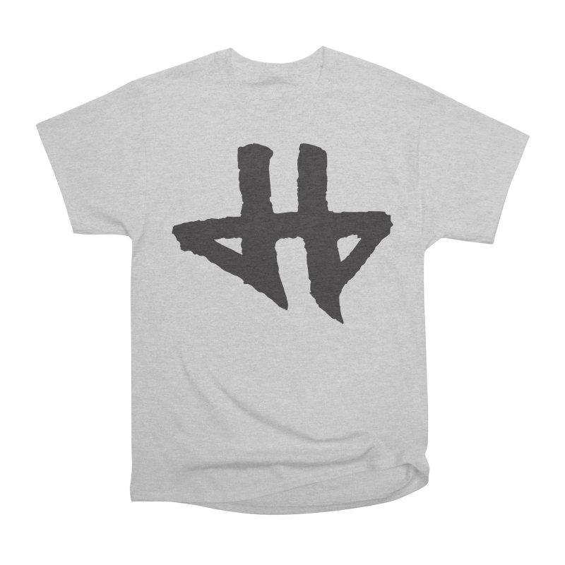 DeadBeat Hero Logo Men's Heavyweight T-Shirt by DEADBEAT HERO Artist Shop