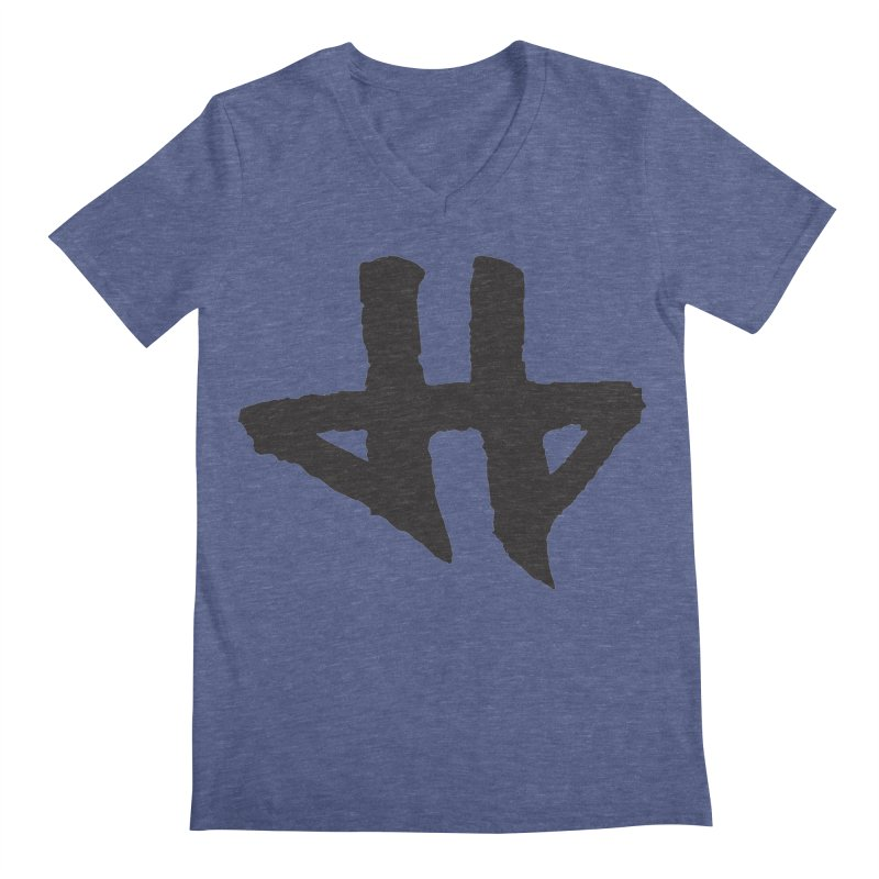 DeadBeat Hero Logo Men's Regular V-Neck by DEADBEAT HERO Artist Shop