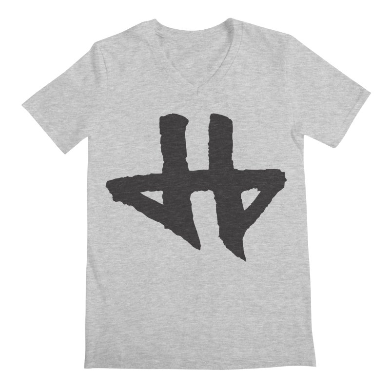 DeadBeat Hero Logo Men's Regular V-Neck by DEADBEAT HERO Artist Shop