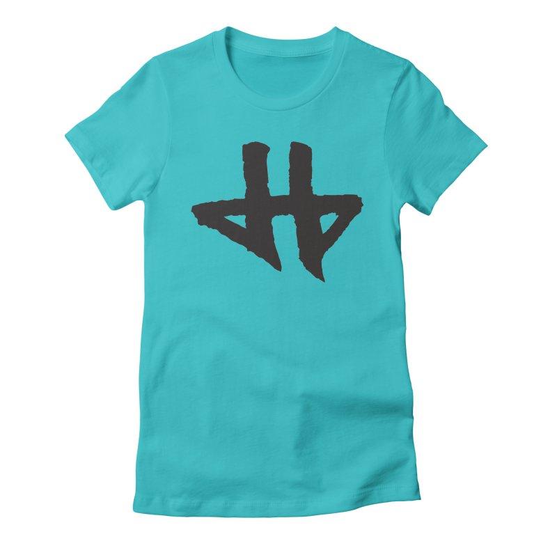 DeadBeat Hero Logo Women's Fitted T-Shirt by DEADBEAT HERO Artist Shop