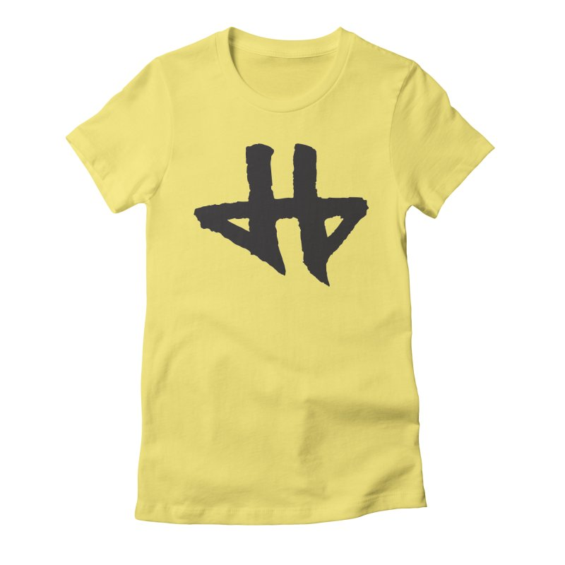 DeadBeat Hero Logo Women's Fitted T-Shirt by DEADBEAT HERO Artist Shop