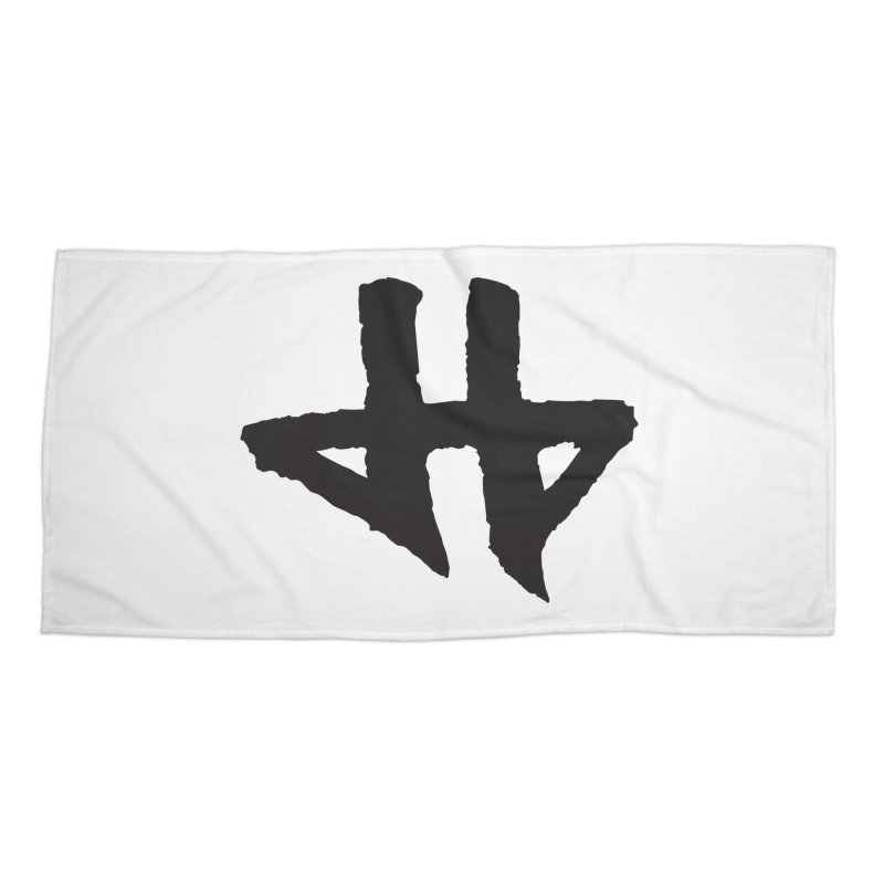 DeadBeat Hero Logo Accessories Beach Towel by DEADBEAT HERO Artist Shop