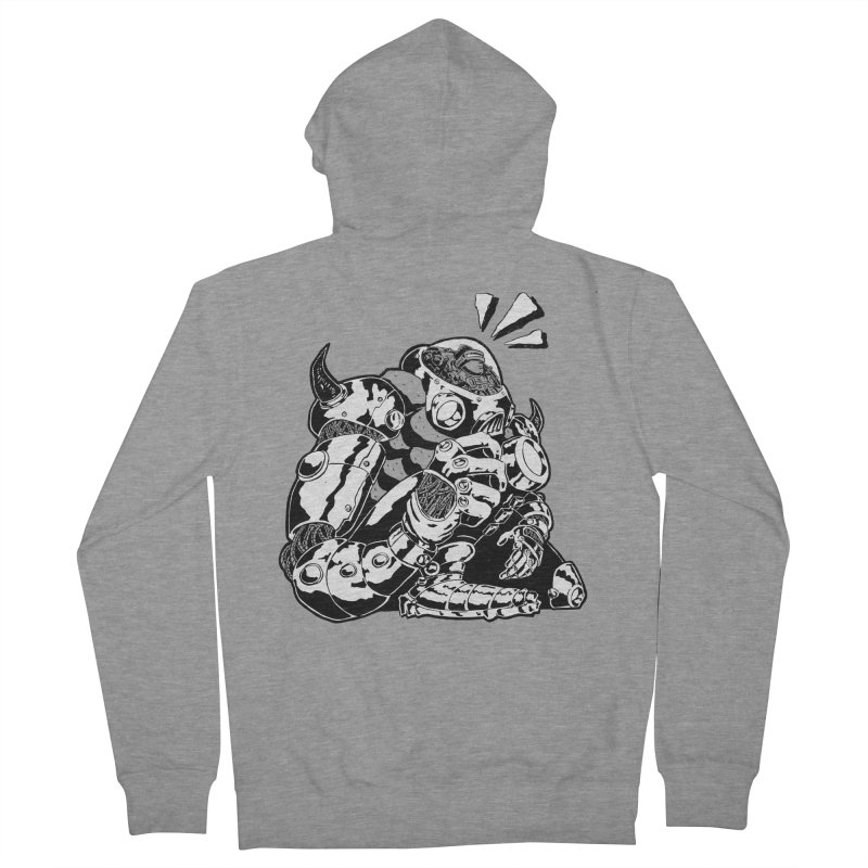 I'll Miss You. Women's French Terry Zip-Up Hoody by DEADBEAT HERO Artist Shop