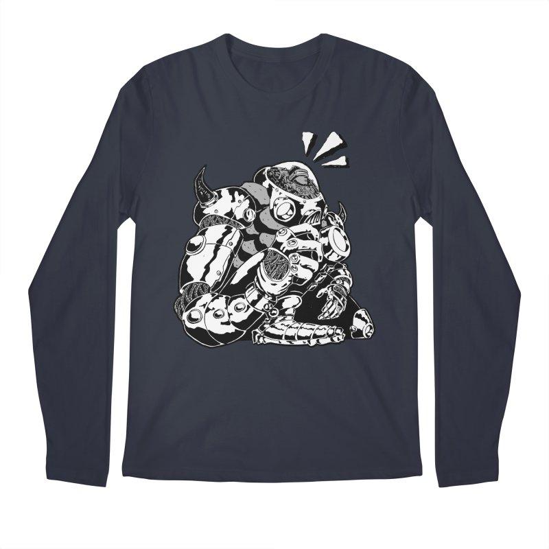 I'll Miss You. Men's Regular Longsleeve T-Shirt by DEADBEAT HERO Artist Shop