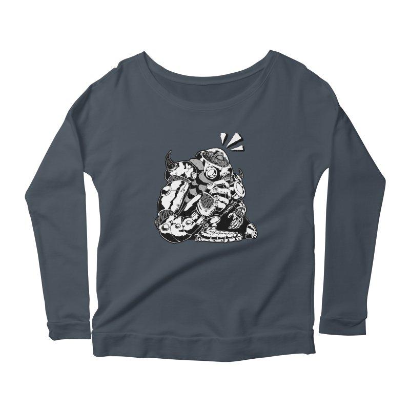 I'll Miss You. Women's Scoop Neck Longsleeve T-Shirt by DEADBEAT HERO Artist Shop