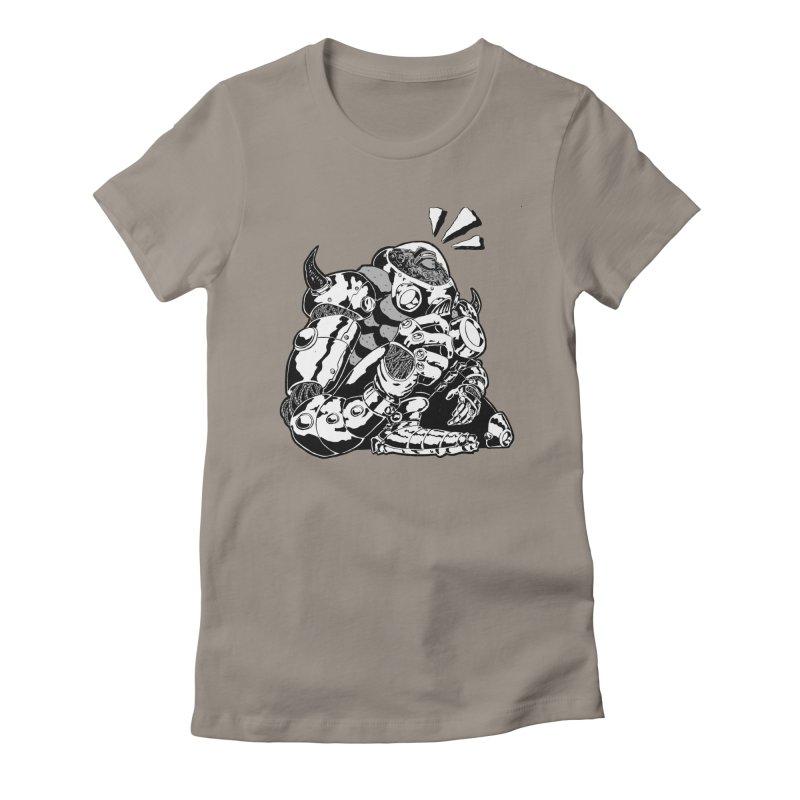I'll Miss You. Women's Fitted T-Shirt by DEADBEAT HERO Artist Shop