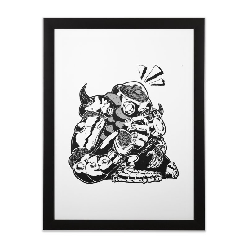 I'll Miss You. Home Framed Fine Art Print by DEADBEAT HERO Artist Shop