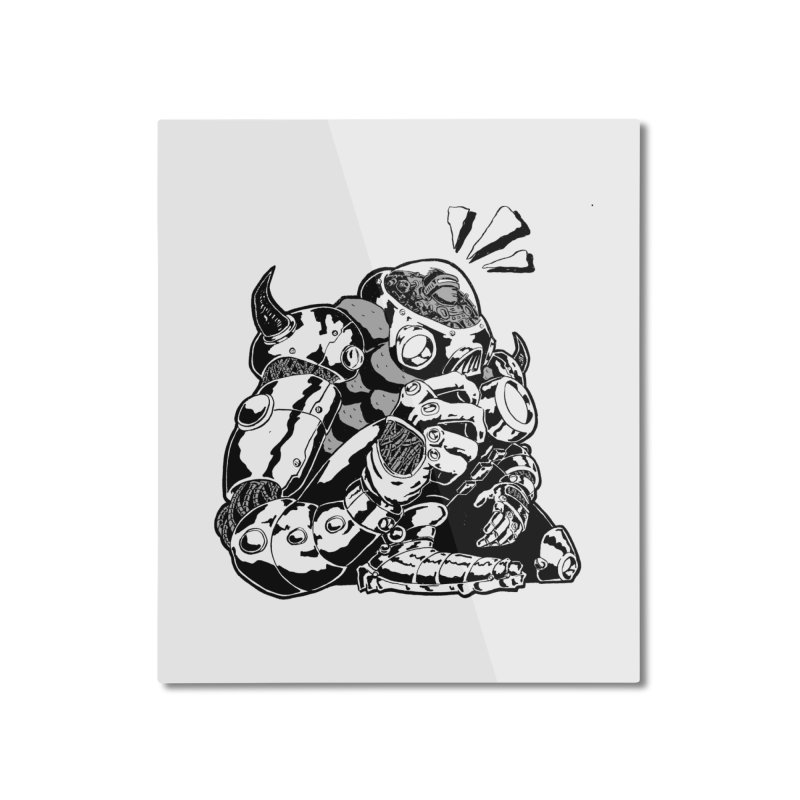 I'll Miss You. Home Mounted Aluminum Print by DEADBEAT HERO Artist Shop