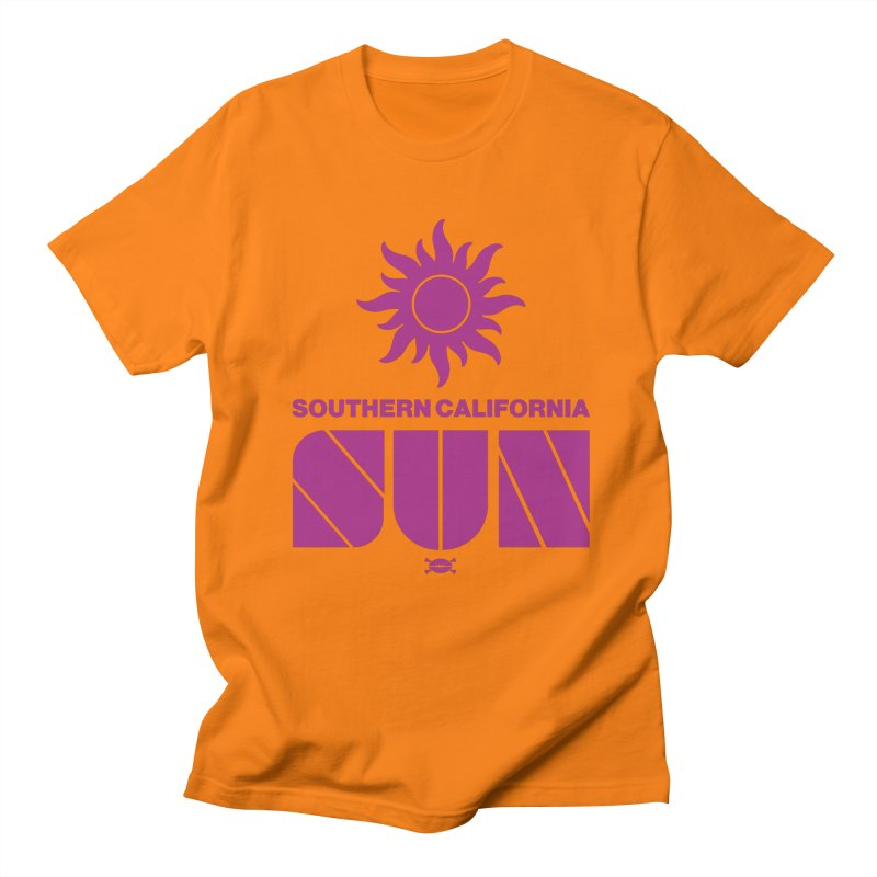 So Cal Sun Men's T-Shirt by deadfootball's Artist Shop
