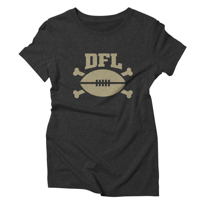 Dead Football League Women's T-Shirt by deadfootball's Artist Shop