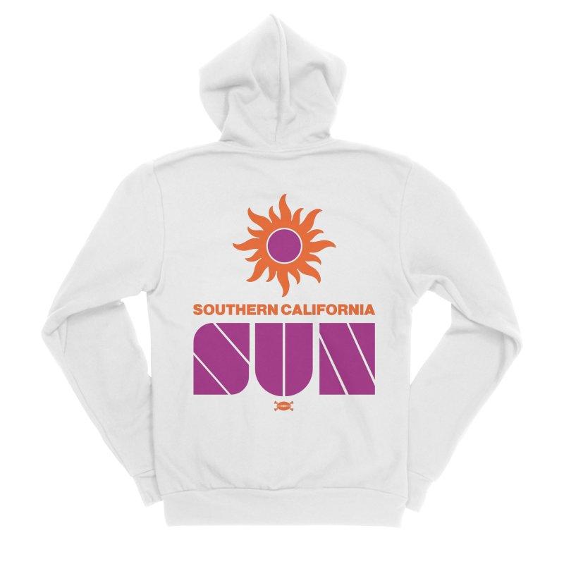 So Cal Super SUN Men's Zip-Up Hoody by deadfootball's Artist Shop