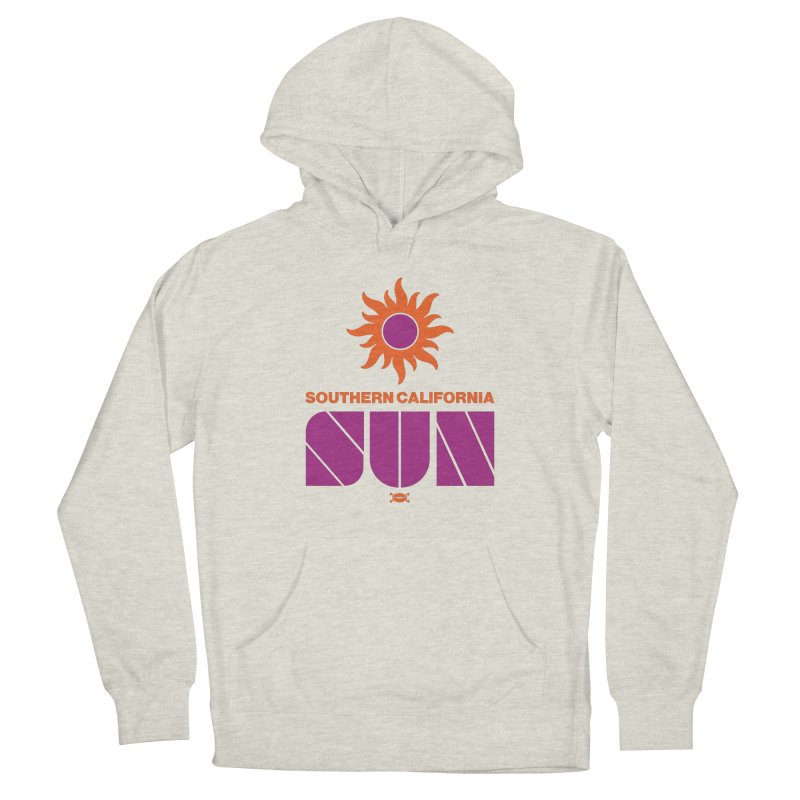 So Cal Super SUN Men's Pullover Hoody by deadfootball's Artist Shop