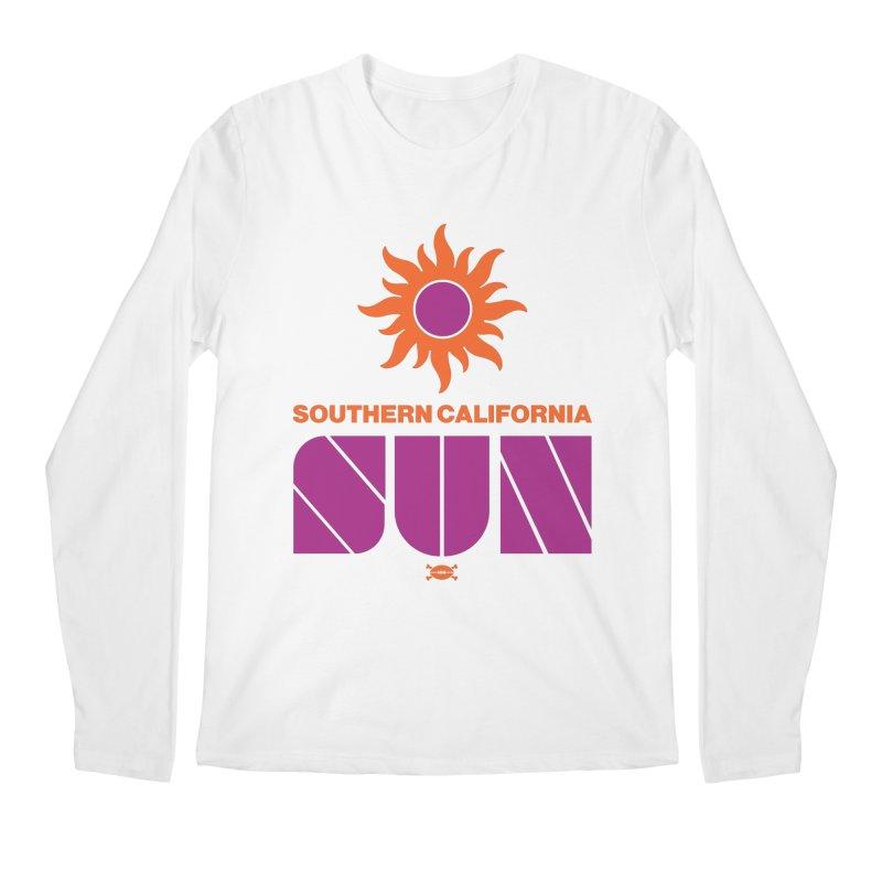 So Cal Super SUN Men's Longsleeve T-Shirt by deadfootball's Artist Shop