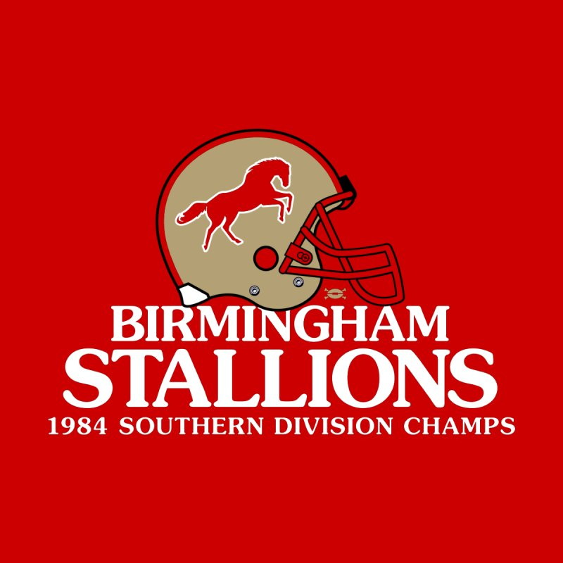 Birmingham Stallions Men's Tank by deadfootball's Artist Shop