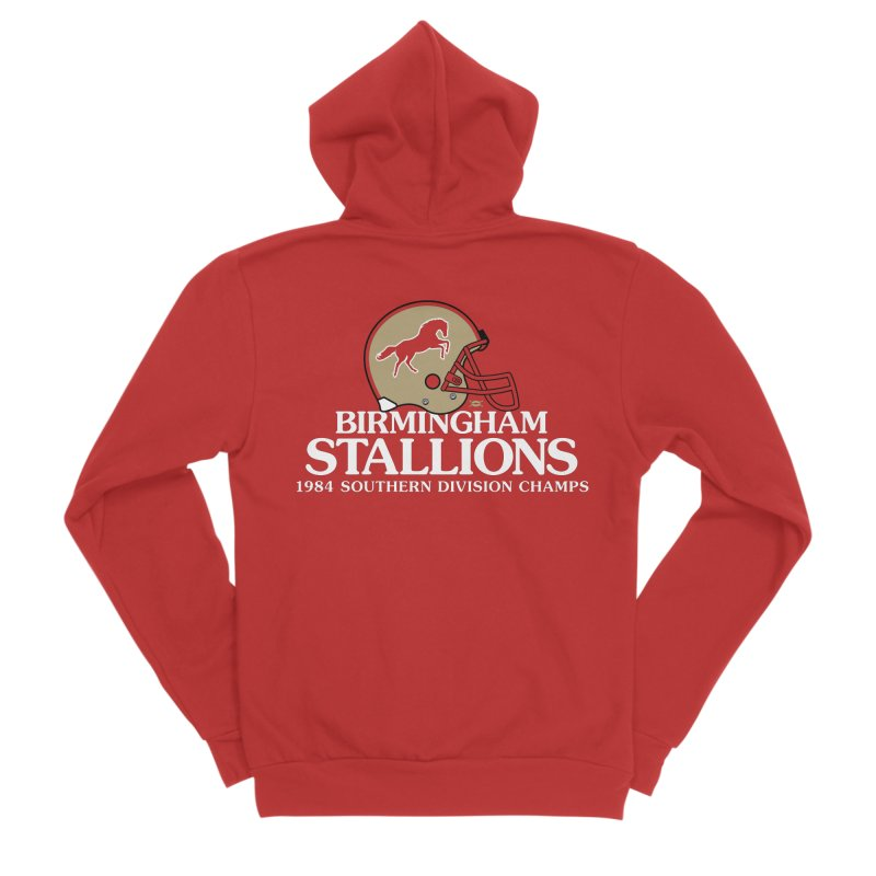 Birmingham Stallions Men's Zip-Up Hoody by deadfootball's Artist Shop