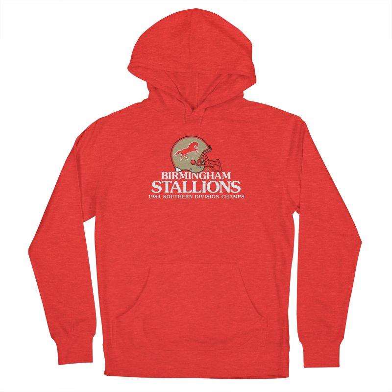 Birmingham Stallions Men's Pullover Hoody by deadfootball's Artist Shop