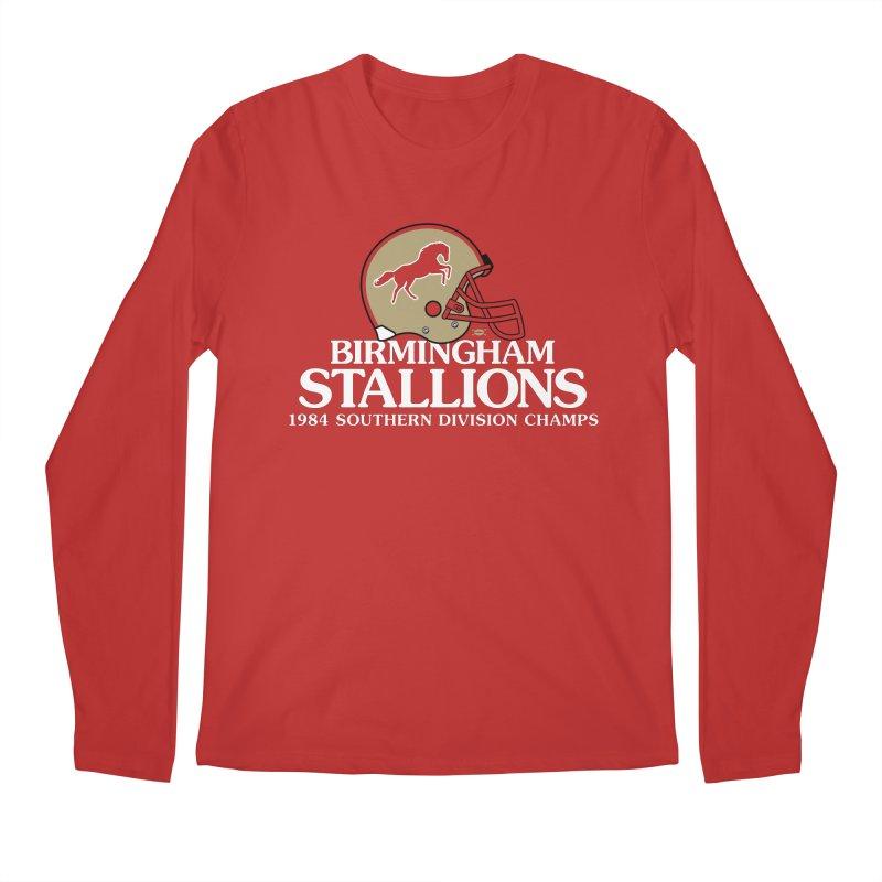 Birmingham Stallions Men's Longsleeve T-Shirt by deadfootball's Artist Shop