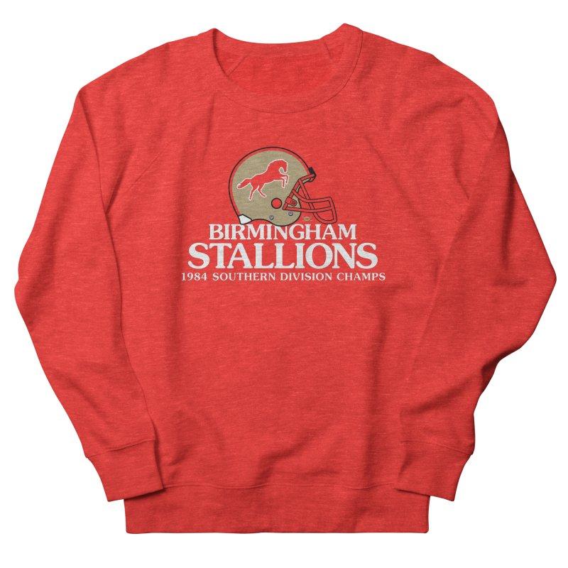 Birmingham Stallions Men's Sweatshirt by deadfootball's Artist Shop