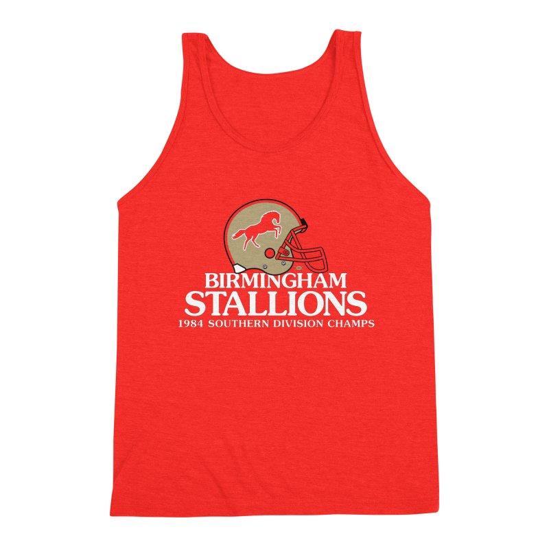 Birmingham Stallions Men's Tank by deadfootball's Artist Shop