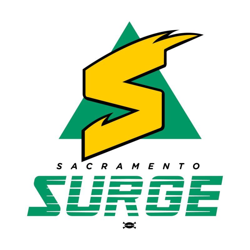 Sacramento Surge Men's T-Shirt by deadfootball's Artist Shop