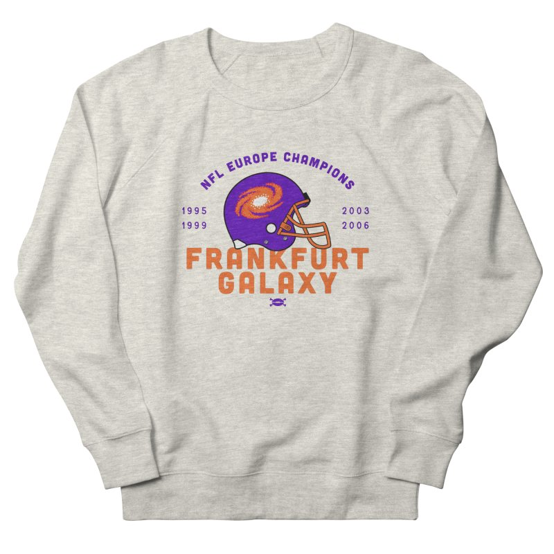Frankfurt Galaxy Men's Sweatshirt by deadfootball's Artist Shop