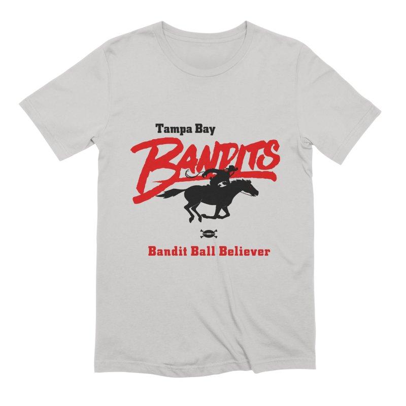 Tampa Bay Bandits Men's T-Shirt by deadfootball's Artist Shop