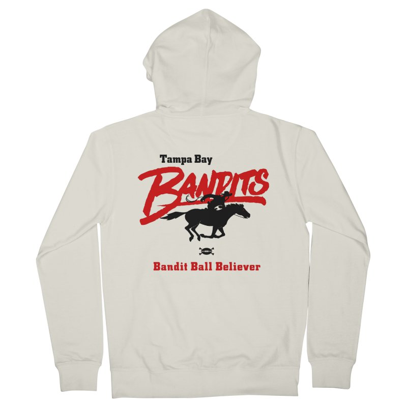 Tampa Bay Bandits Men's Zip-Up Hoody by deadfootball's Artist Shop
