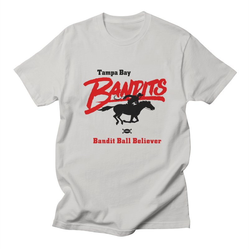 Tampa Bay Bandits Men's T-Shirt by deadfootball's Artist Shop