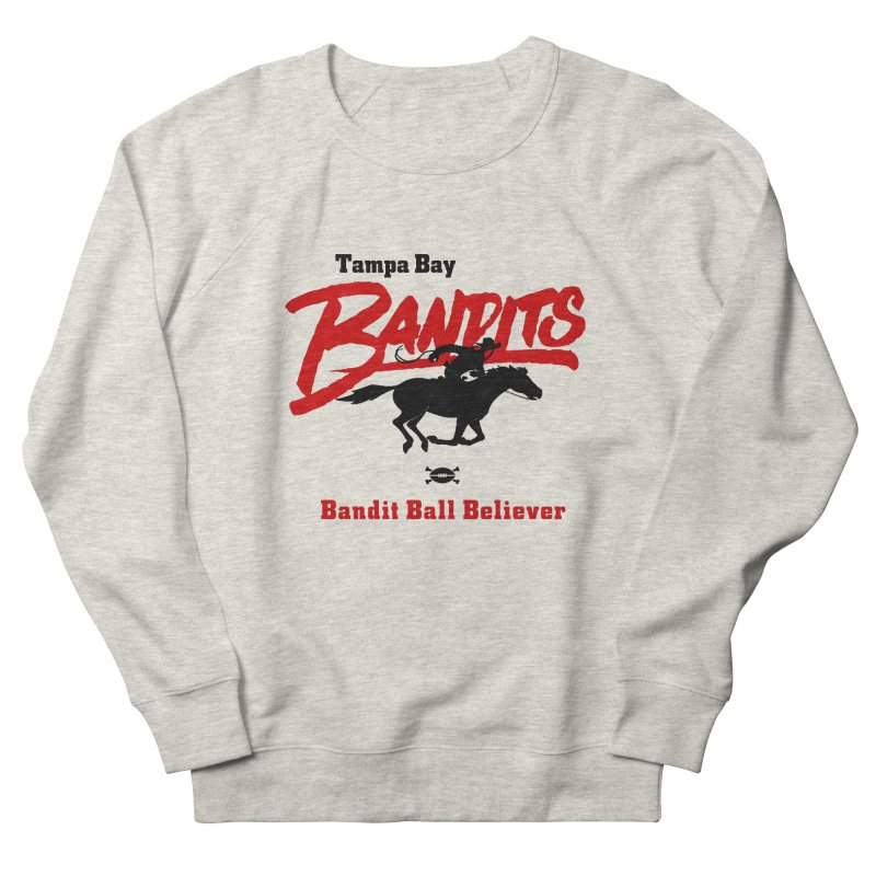 Tampa Bay Bandits Men's Sweatshirt by deadfootball's Artist Shop
