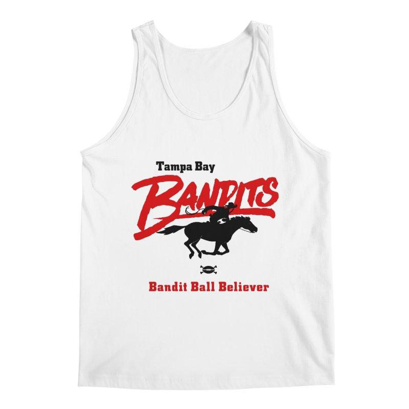 Tampa Bay Bandits Men's Tank by deadfootball's Artist Shop