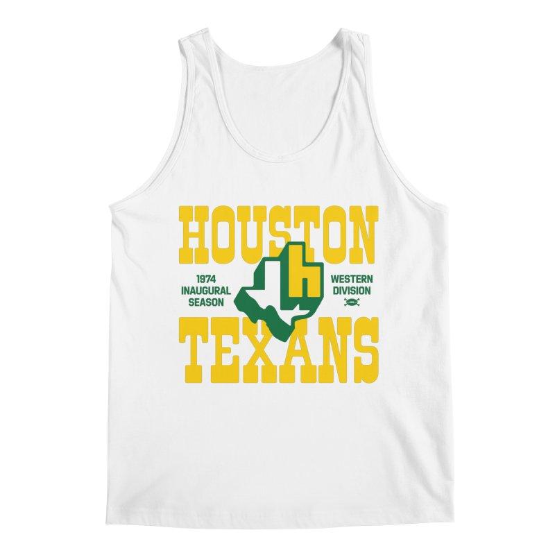 Houston Texans Men's Tank by deadfootball's Artist Shop