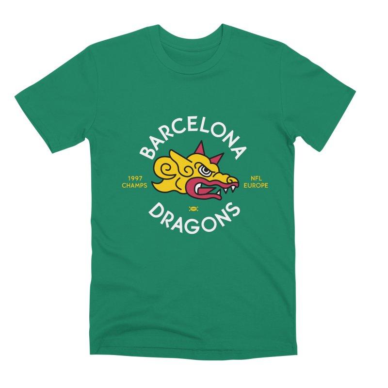 Barcelona Dragons Men's T-Shirt by deadfootball's Artist Shop