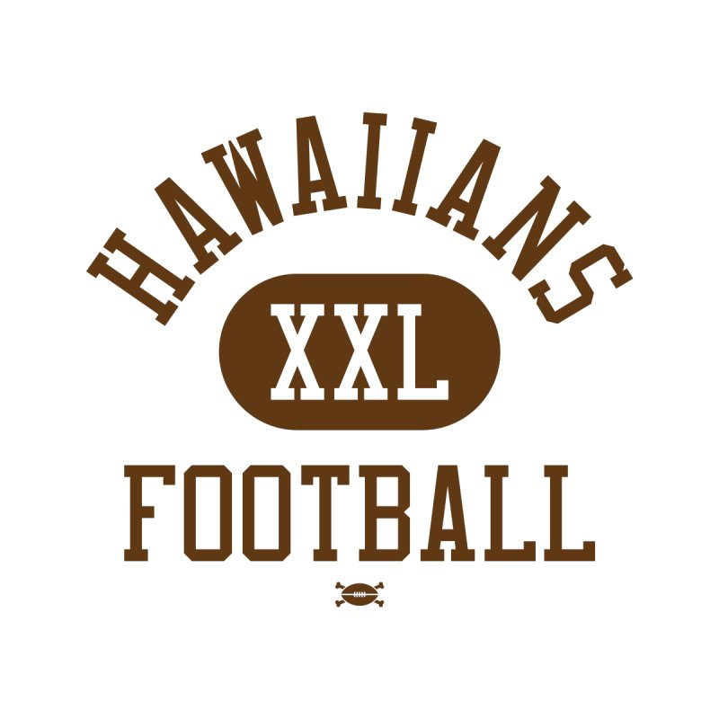 Hawaiians XXL Football Men's T-Shirt by deadfootball's Artist Shop