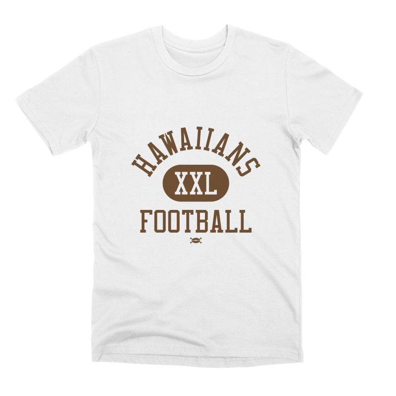 Hawaiians XXL Football Men's T-Shirt by deadfootball's Artist Shop