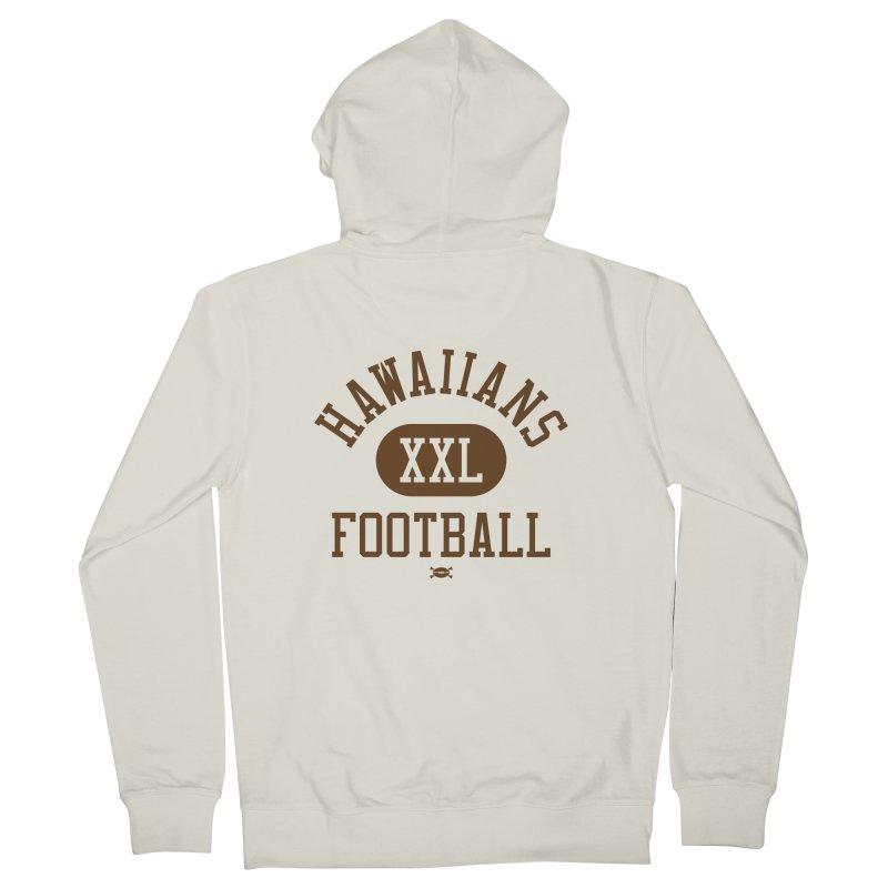 Hawaiians XXL Football Men's Zip-Up Hoody by deadfootball's Artist Shop