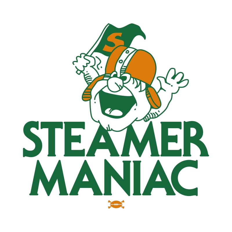 Steamer Maniac Men's Sweatshirt by deadfootball's Artist Shop