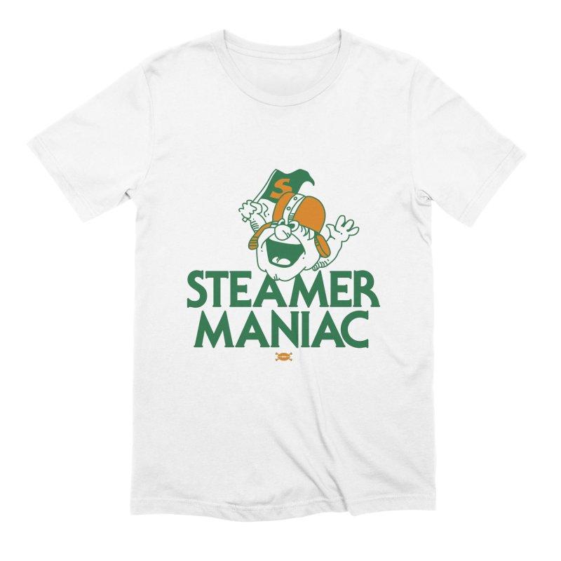 Steamer Maniac Men's T-Shirt by deadfootball's Artist Shop