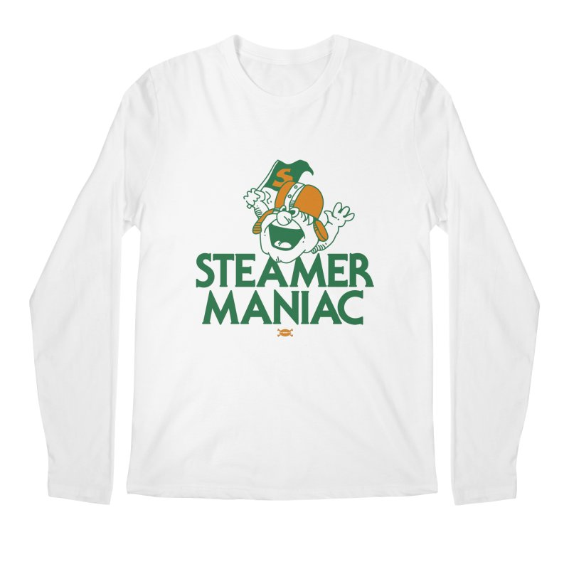 Steamer Maniac Men's Longsleeve T-Shirt by deadfootball's Artist Shop