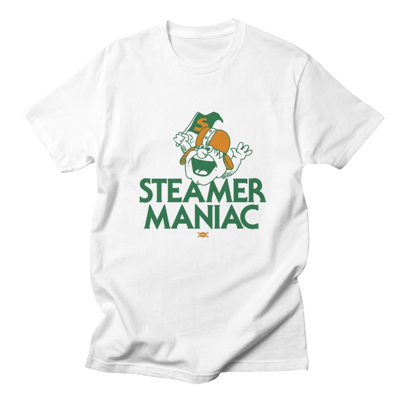 Steamer Maniac Men's T-Shirt by deadfootball's Artist Shop