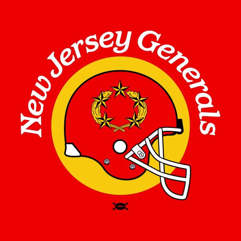New Jersey Generals Helmet shirt Men's T-Shirt by deadfootball's Artist Shop