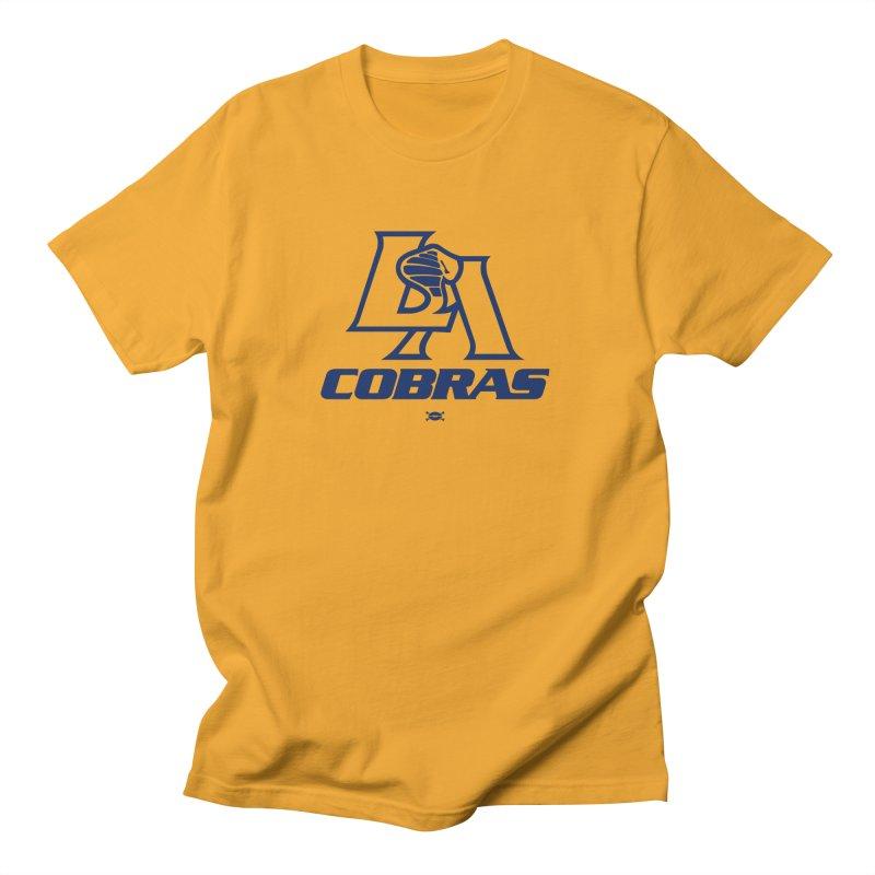 LA Cobras Men's T-Shirt by deadfootball's Artist Shop
