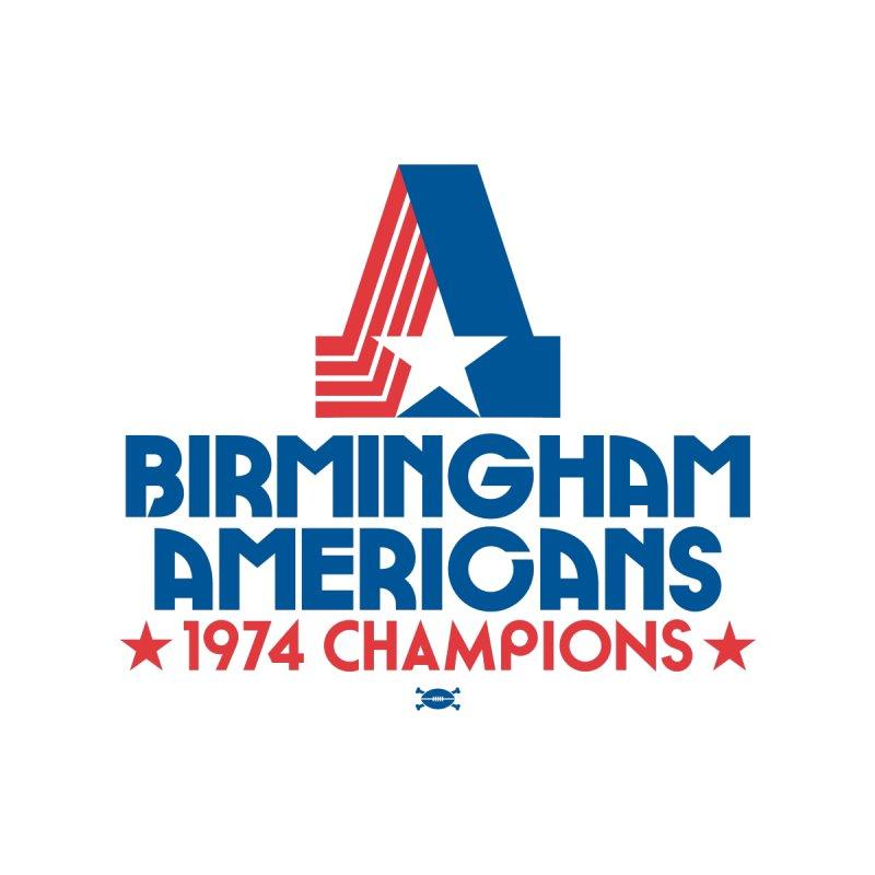 1974 CHAMPIONS Men's T-Shirt by deadfootball's Artist Shop